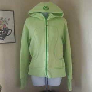 Lululemon scuba hoodie in green